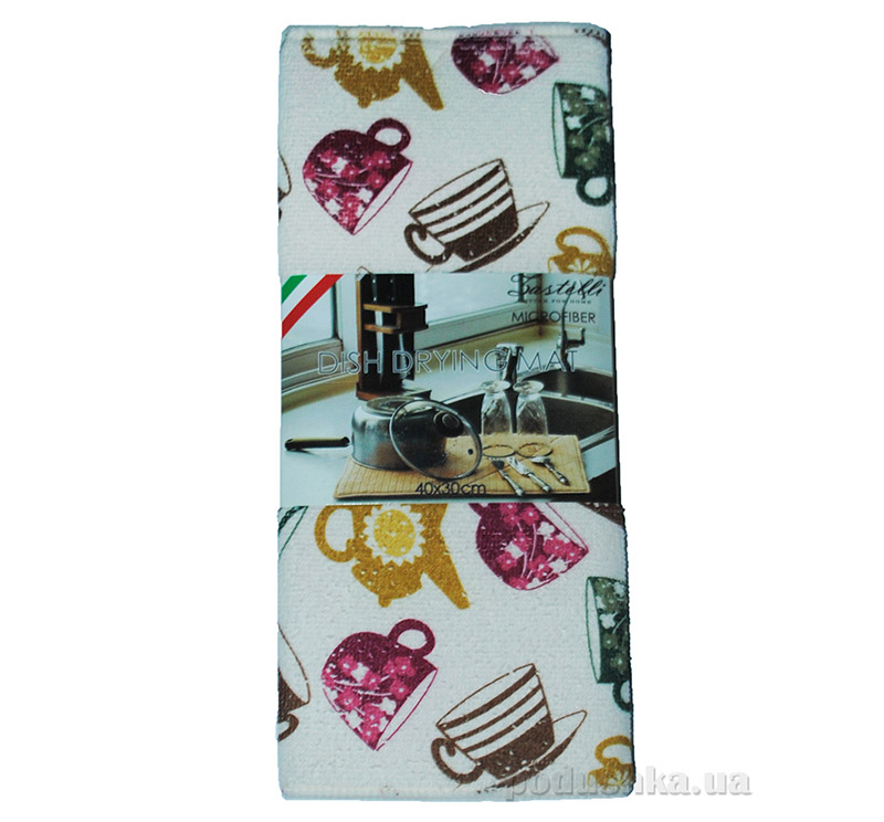 Коврик для сушки посуды Zastelli HY-171 Чашки