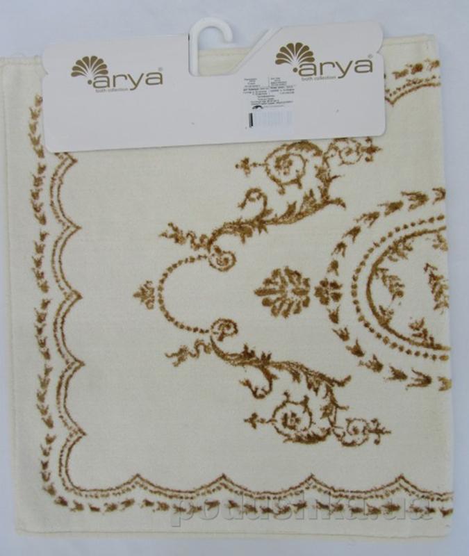 Коврик для ванной Arya TR1000127 Basak кремово-золотистый