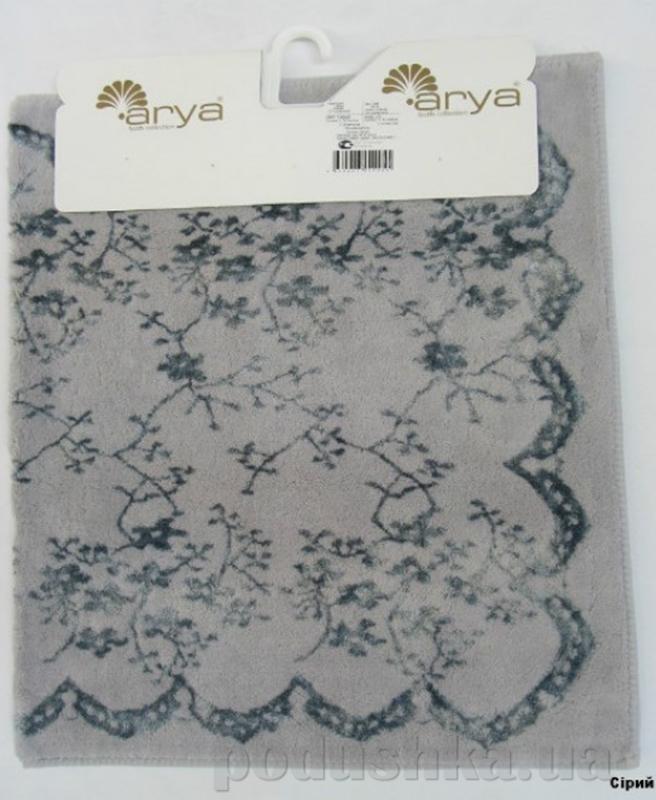 Коврик для ванной Arya TR1001012 Bahar серый