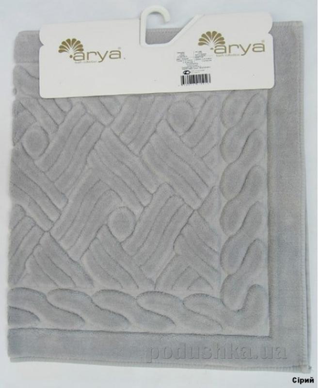 Коврик для ванной Arya TR1001013 Assos серый