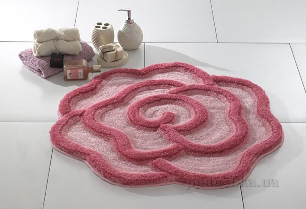 Коврик для ванной Confetti Afrodis розовый 2667-2