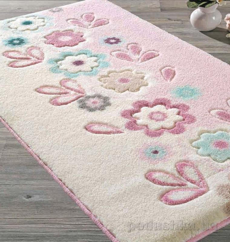 Коврик для ванной Confetti April розовый 11008303