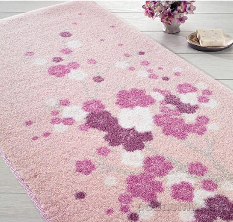 Коврик для ванной Confetti Bella Spray розовый