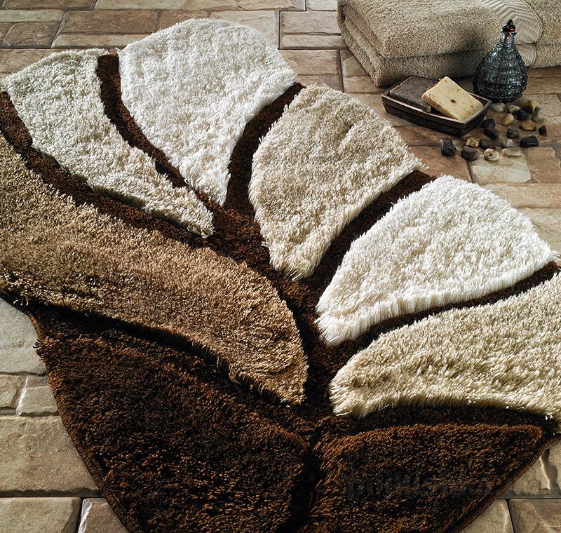 Коврик для ванной Confetti Elite Arsus коричневый