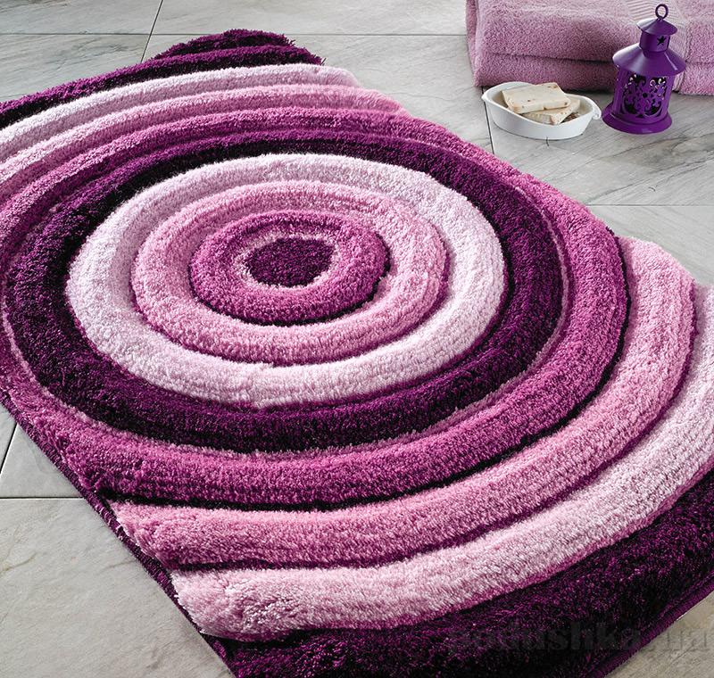 Коврик для ванной Confetti Elite Efesus фиолетовый