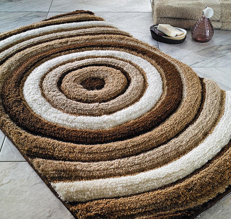 Коврик для ванной Confetti Elite Efesus коричневый