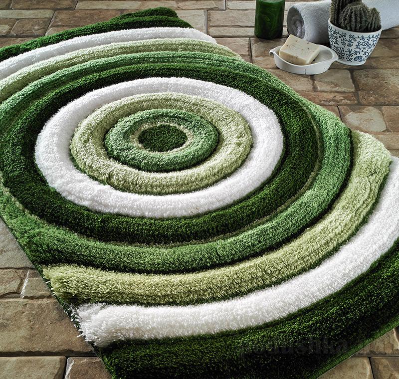 Коврик для ванной Confetti Elite Efesus зеленый
