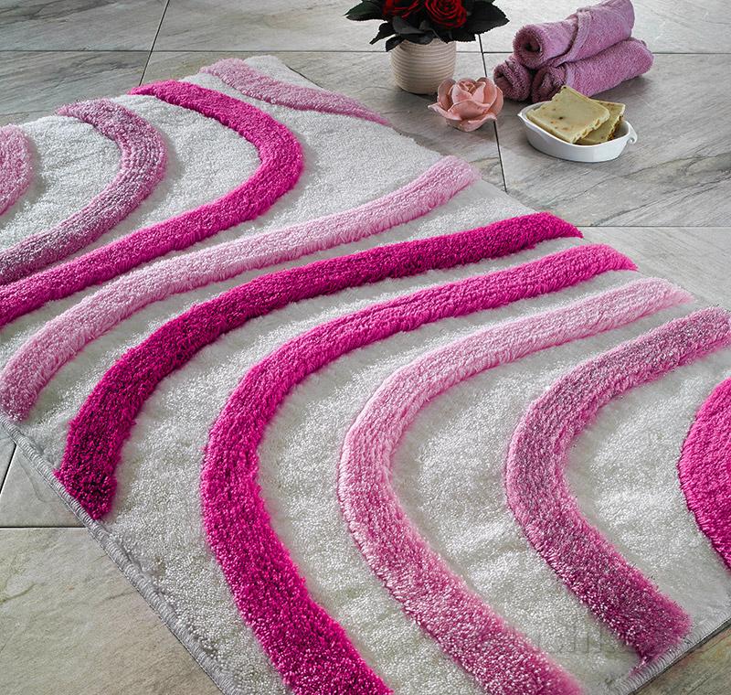 Коврик для ванной Confetti Elite Sardes розовый