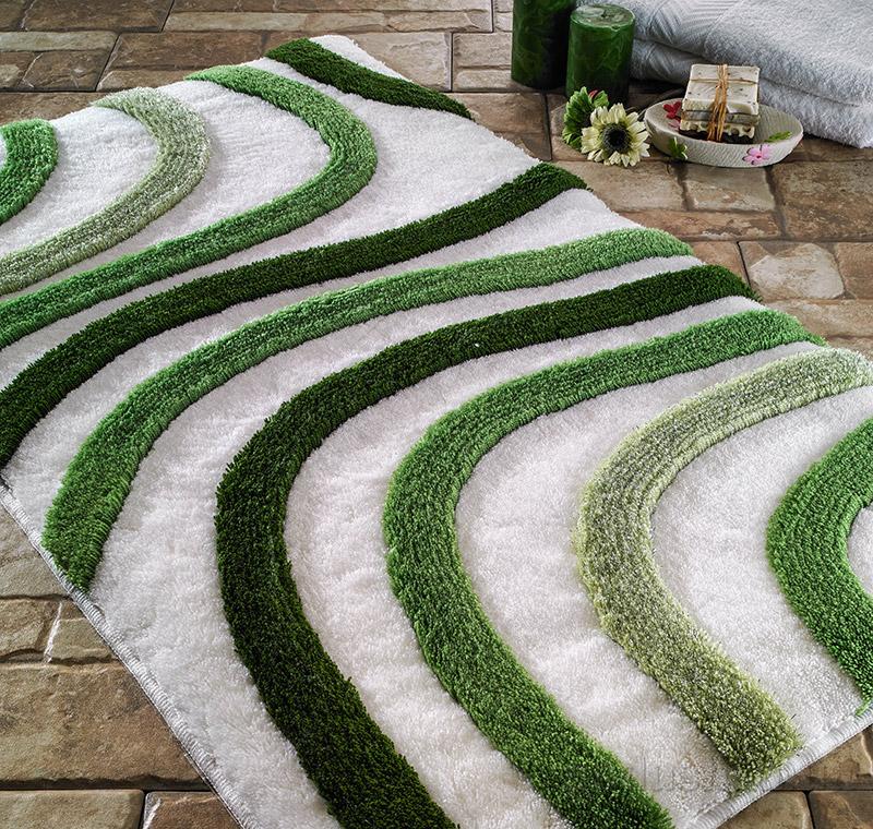 Коврик для ванной Confetti Elite Sardes зеленый