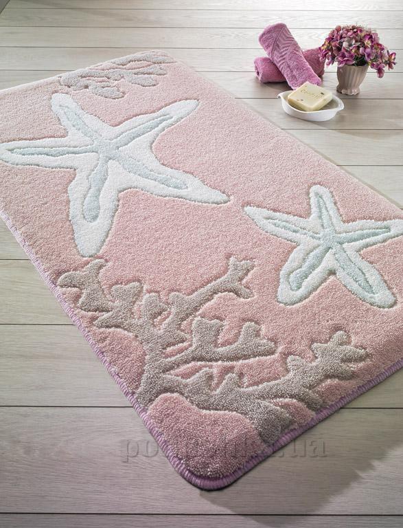 Коврик для ванной Confetti Little star Pink розовый