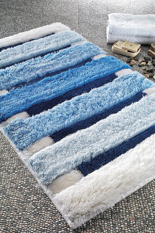 Коврик для ванной Confetti Selinus голубой 2660-2