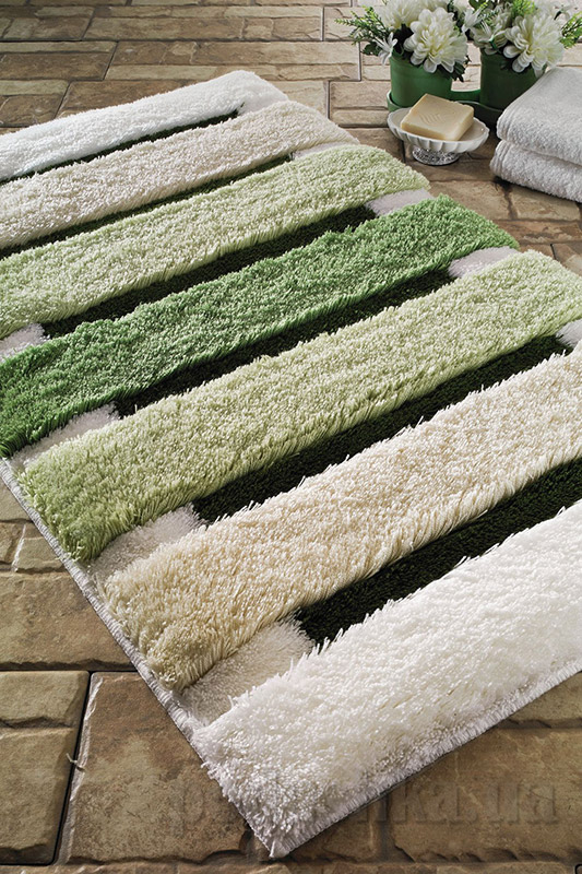 Коврик для ванной Confetti Selinus зеленый 2660-4
