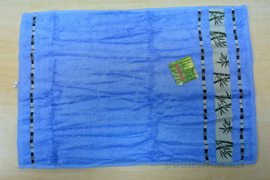 Полотенце для ног Hanibaba голубой