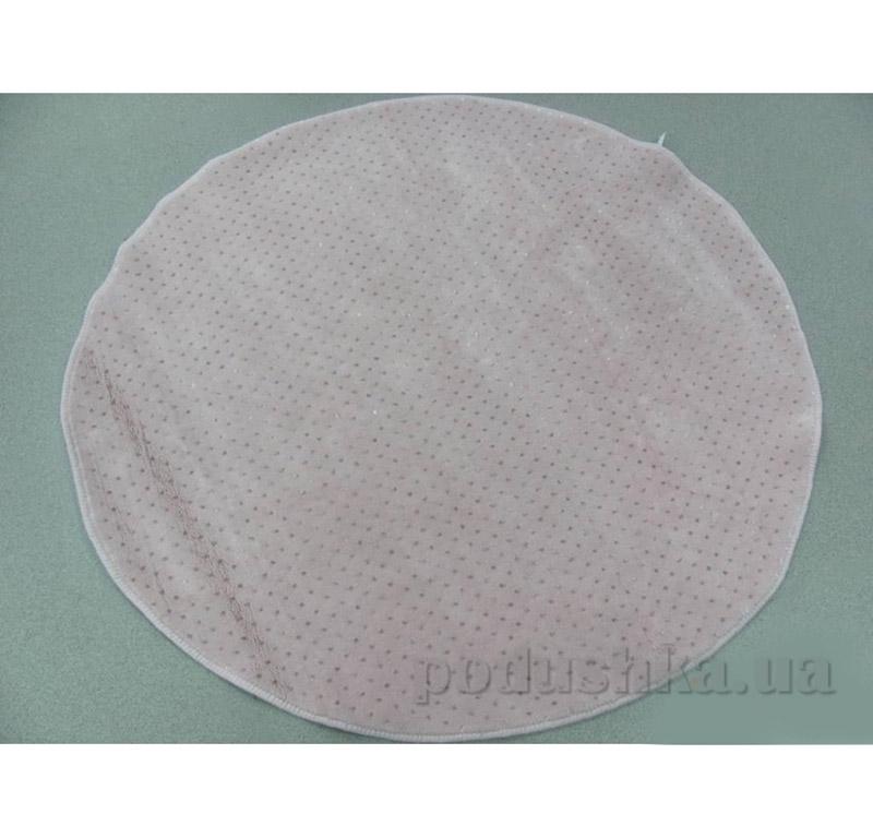 Коврик розовый для ванной комнаты Point Arya 1380030 120х120 см  ARYA