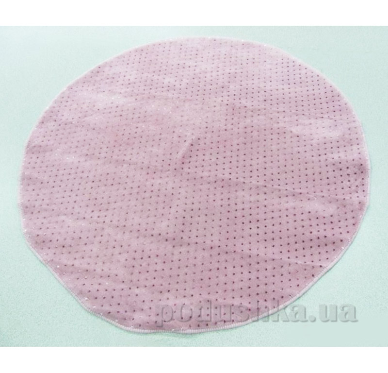 Коврик для ванной комнаты Point Arya 1380030 темно-розовый