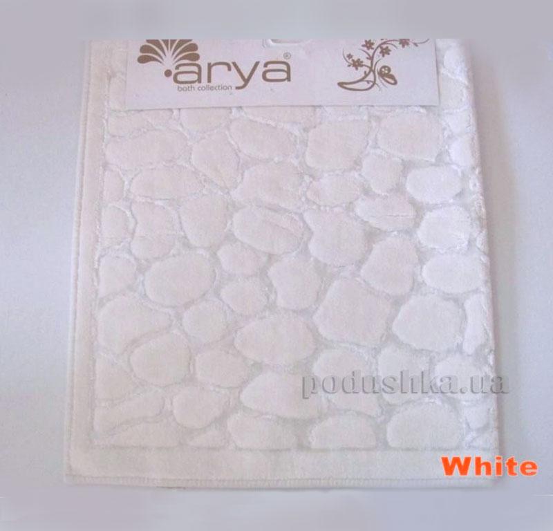 Коврик для ванной комнаты Arya Cakil 1380048 белый