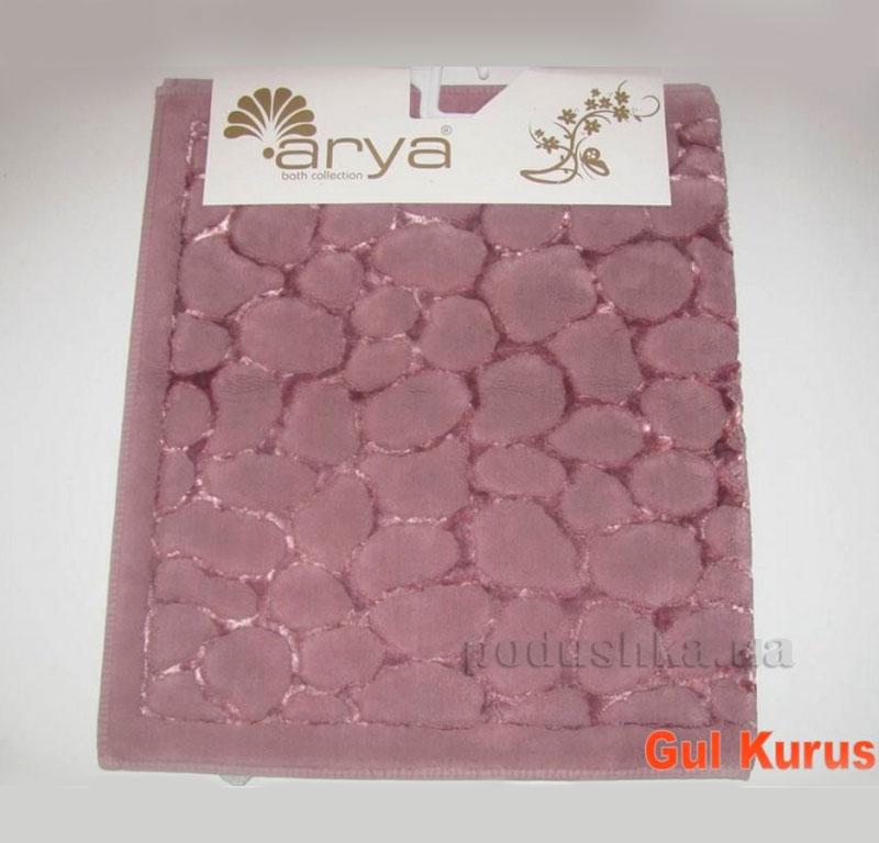 Коврик для ванной комнаты Arya Cakil 1380048 темно-розовый