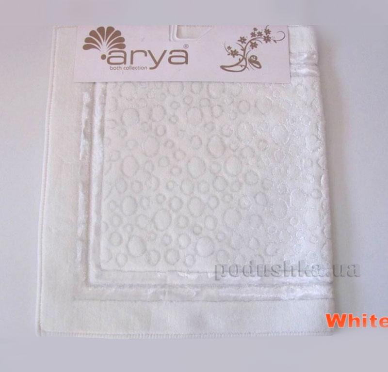 Коврик для ванной комнаты Arya Hitit 1380049 белый