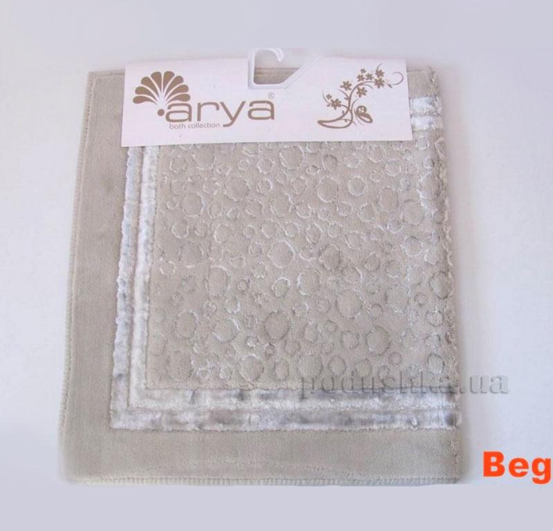 Коврик для ванной комнаты Arya Hitit 1380049 бежевый
