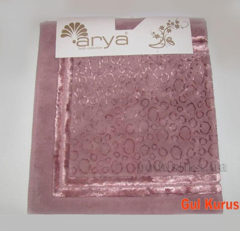 Коврик для ванной комнаты Arya Hitit 1380049 темно-розовый