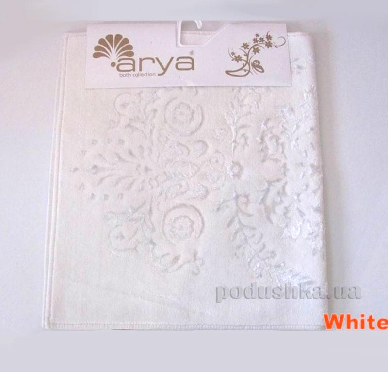 Коврик для ванной комнаты Arya Luxor 1380063 белый