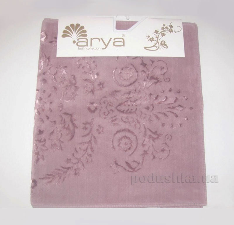 Коврик для ванной комнаты Arya Luxor 1380063 розовый