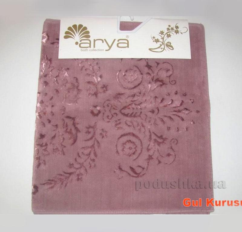 Коврик для ванной комнаты Arya Luxor 1380063 темно-розовый
