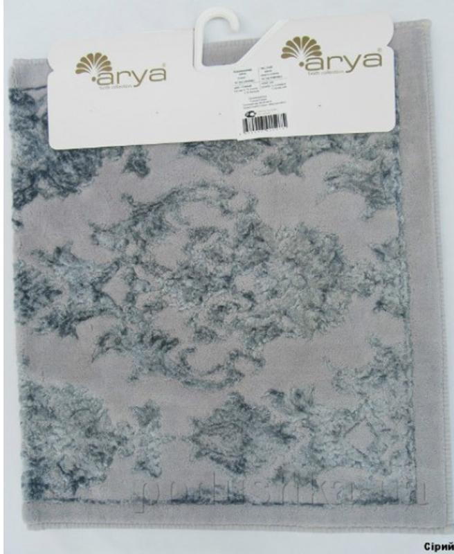 Коврик для ванной комнаты Arya Osmanli TR1001014 серый