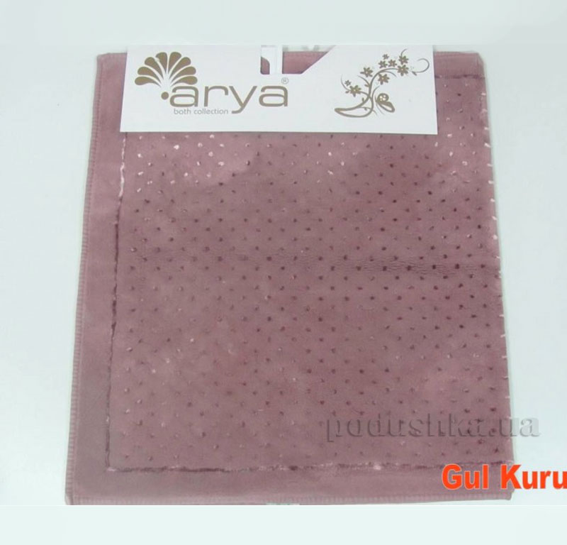 Коврик для ванной комнаты Arya Point 1380050 темно-розовый