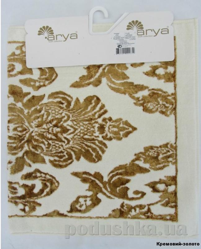 Коврик для ванной комнаты Arya Saray TR1000126 кремово-золотистый