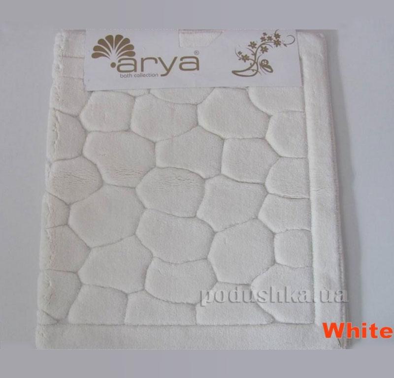 Коврик для ванной комнаты Arya Tas 1380052 белый