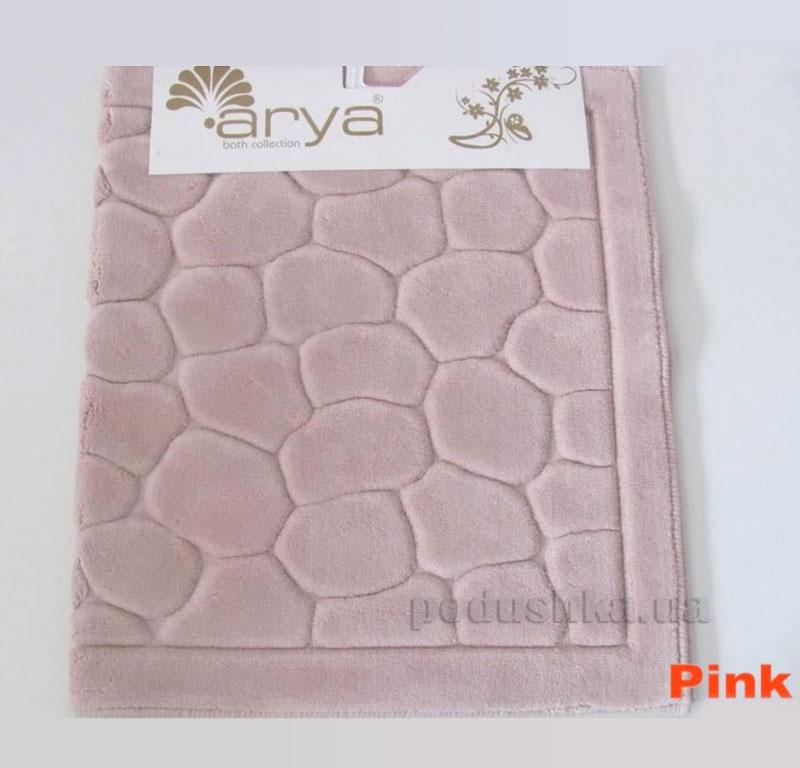 Коврик для ванной комнаты Arya Tas 1380052 розовый