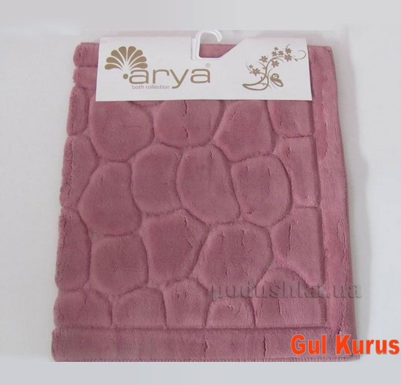 Коврик для ванной комнаты Arya Tas 1380052 темно-розовый