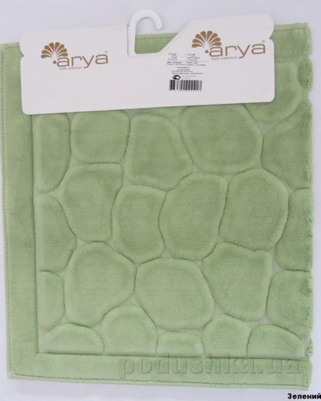 Коврик для ванной комнаты Arya Tas 1380052 зеленый