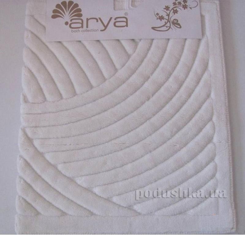 Коврик для ванной комнаты Arya Yazgulu 1380053 белый