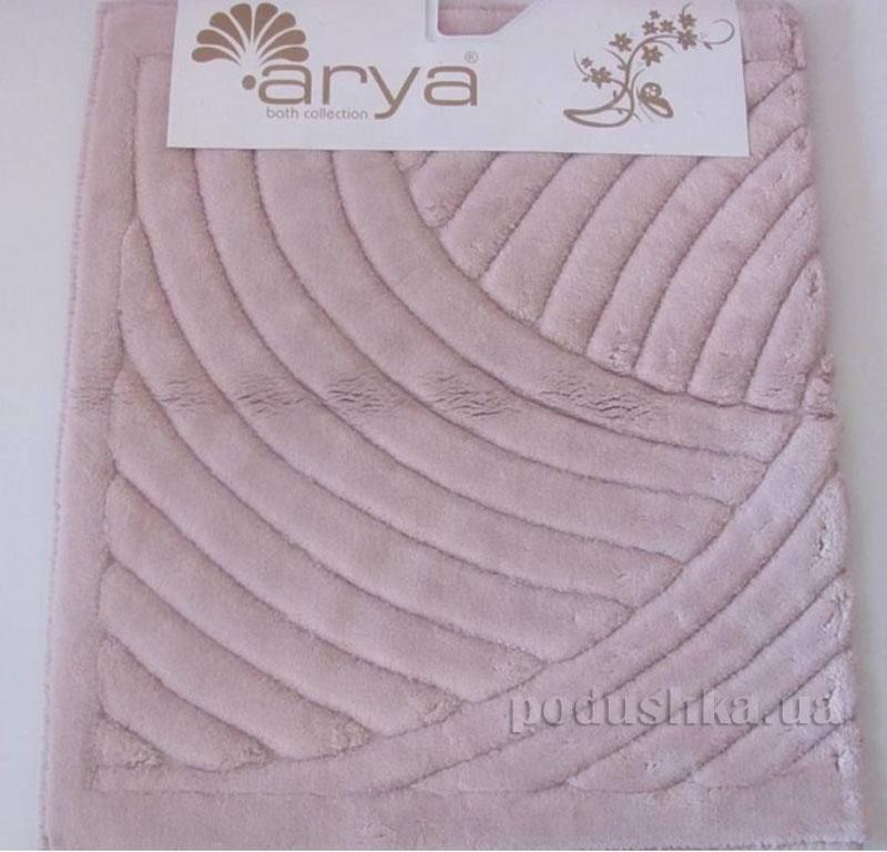 Коврик для ванной комнаты Arya Yazgulu 1380053 розовый
