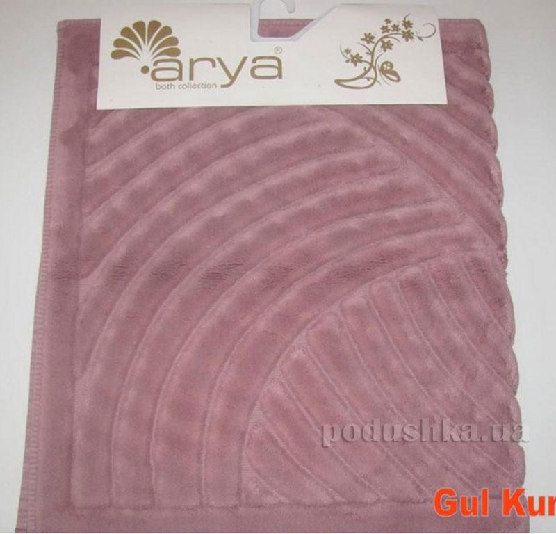 Коврик для ванной комнаты Arya Yazgulu 1380053 темно-розовый