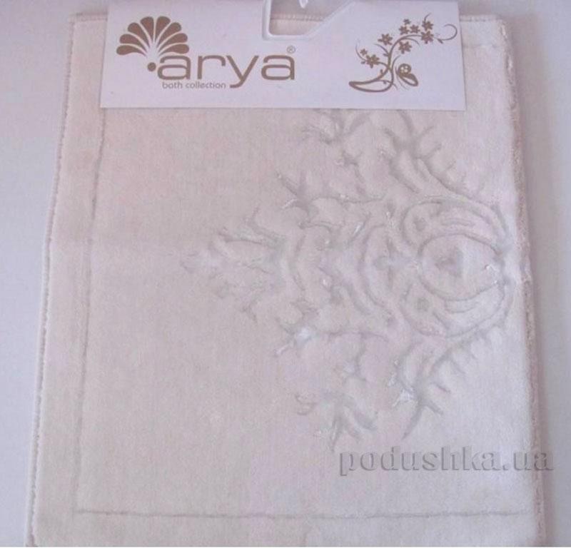 Коврик для ванной комнаты Arya Zambak 1380054 кремовый