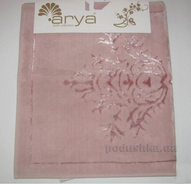 Коврик для ванной комнаты Arya Zambak 1380054 розовый