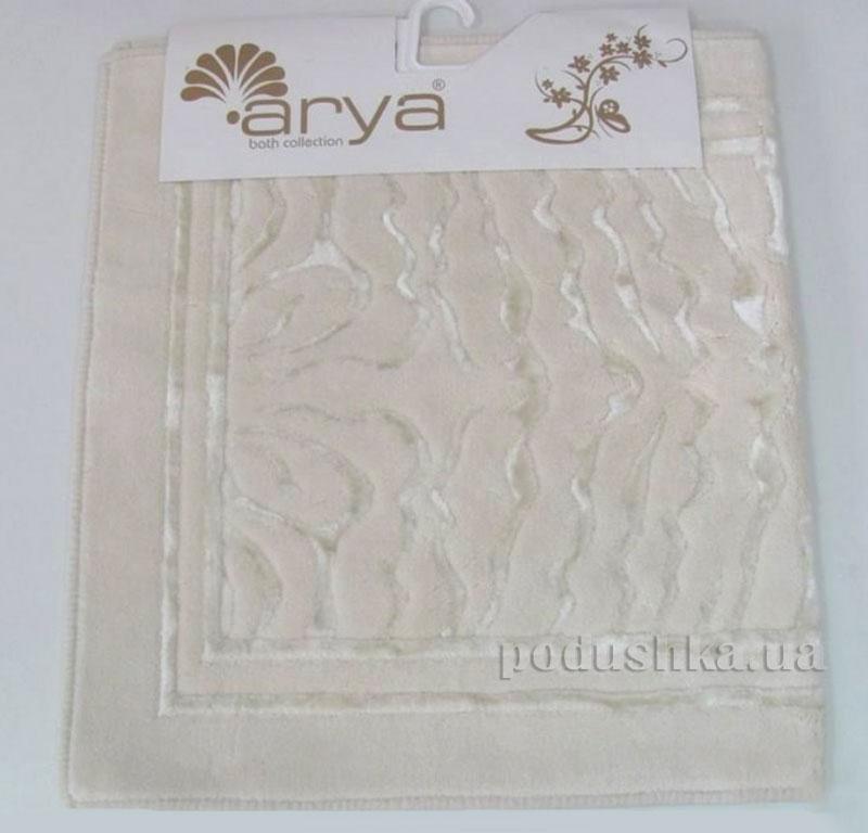Коврик для ванной комнаты Arya Zebra 1380055 кремовый