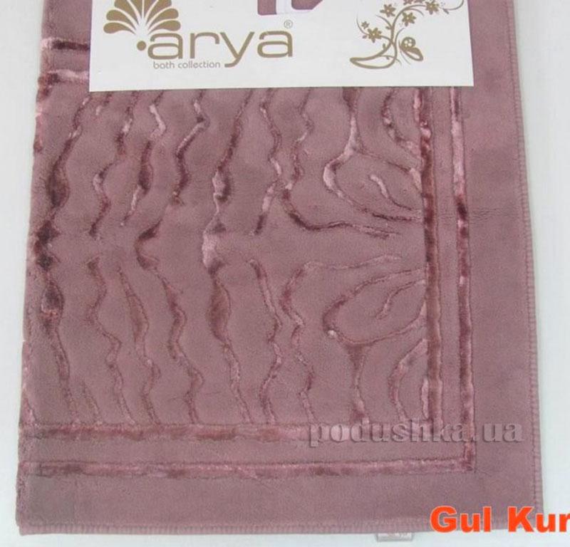 Коврик для ванной комнаты Arya Zebra 1380055 темно-розовый 70х120 см  ARYA