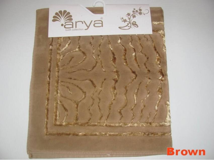 Коврик для ванной комнаты Arya Zebra коричневый