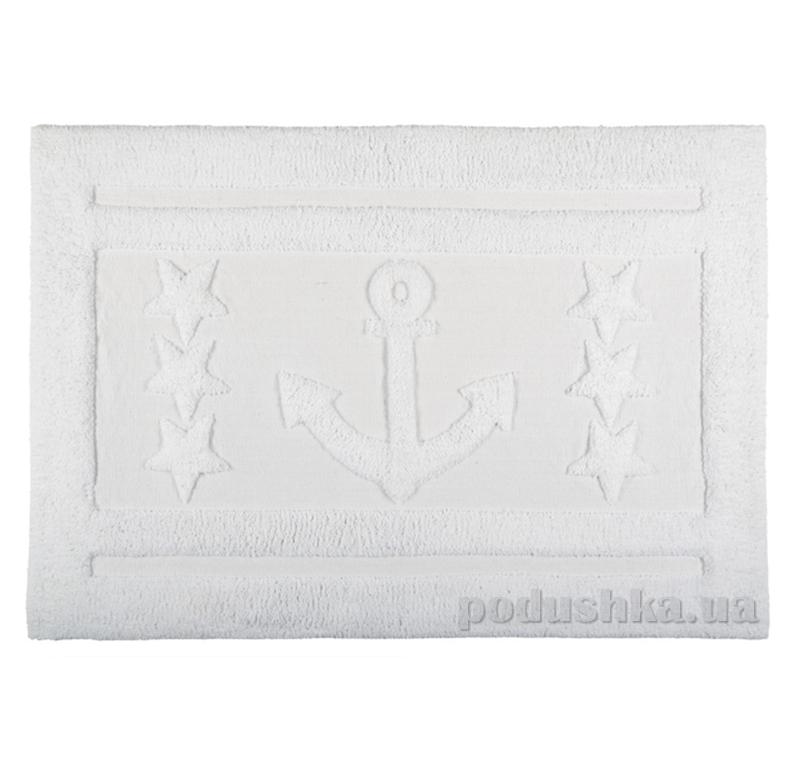 Коврик для ванной Spirella Anchor Star белый