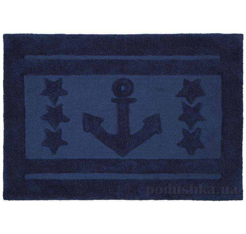 Коврик для ванной Spirella Anchor Star синий