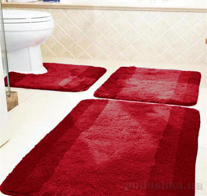 Коврик для ванной Spirella Balance красный