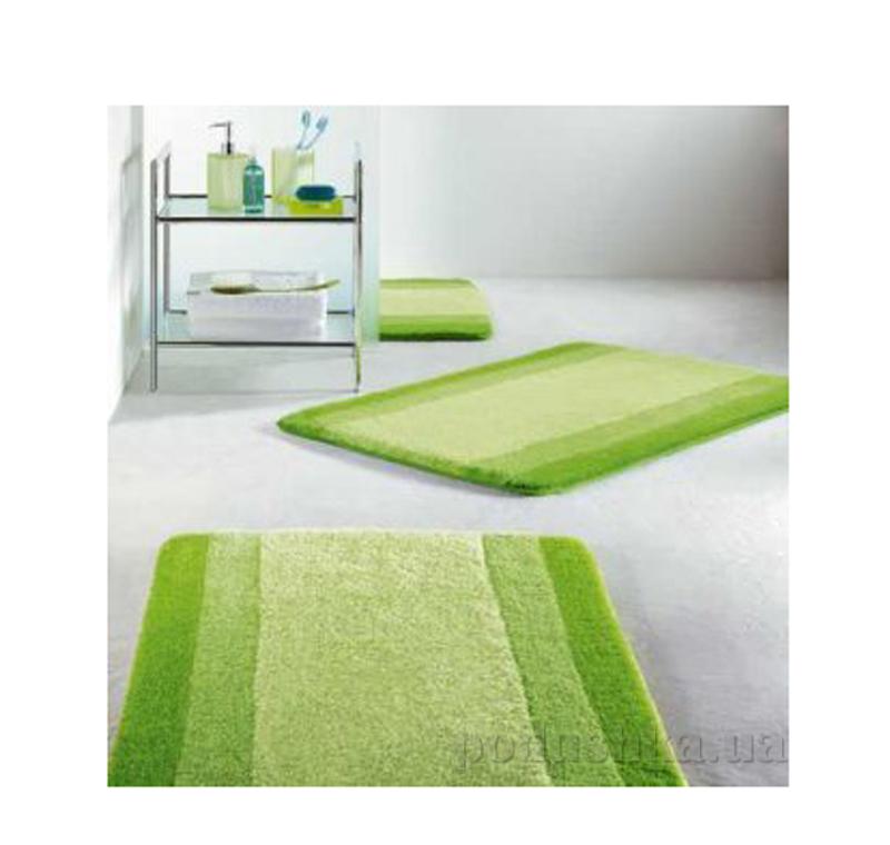 Коврик для ванной Spirella Balance зеленый