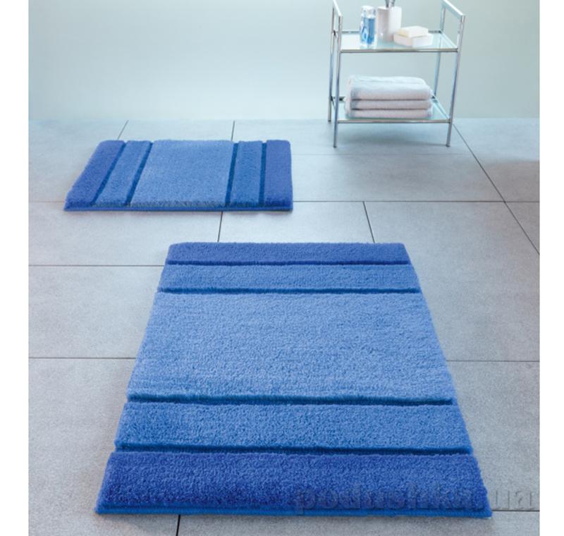 Коврик для ванной Spirella Calma синий