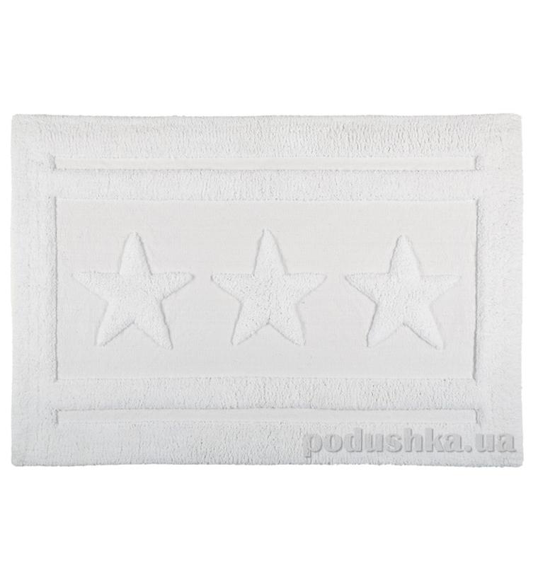 Коврик для ванной Spirella Emily Star белый