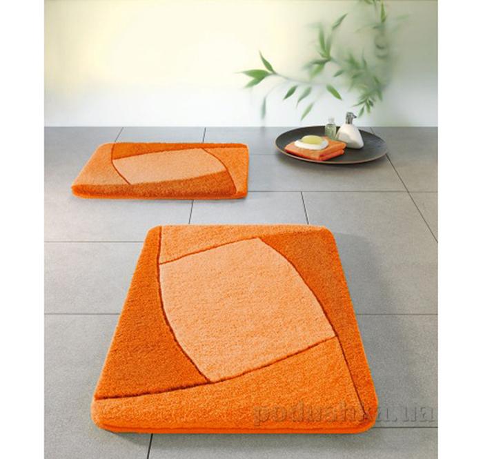 Коврик для ванной Spirella Focus оранжевый