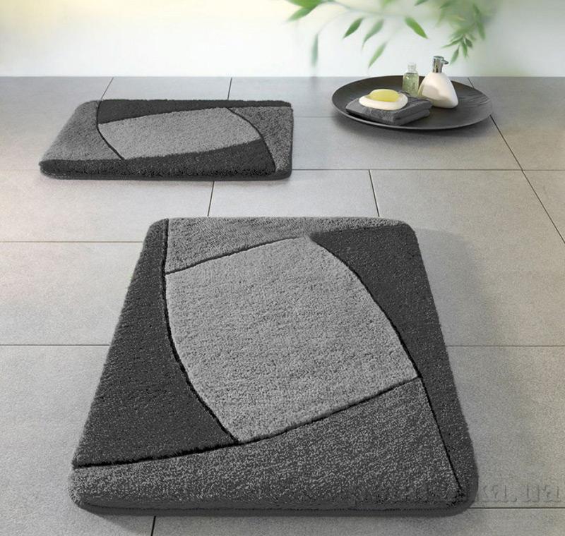 Коврик для ванной Spirella Focus серый